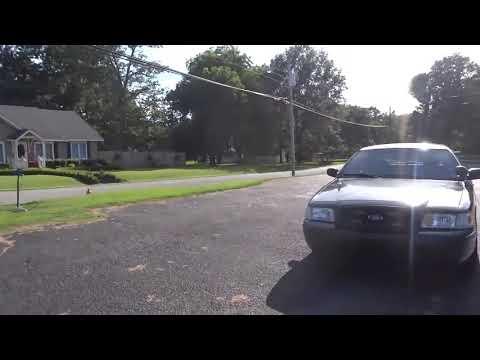 Ford Crown Victoria Police Interceptors Maury City TN Police Dept.