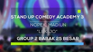 Video Stand Up Comedy Academy 3 : Nopek, Madiun - Lek Jo MP3, 3GP, MP4, WEBM, AVI, FLV November 2017