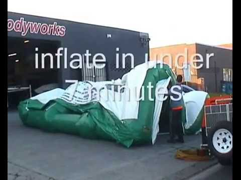 Industrial Inflatables replace conventional industrial products
