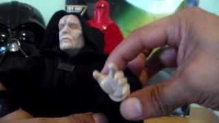 Star Wars Electronic Emperor Palpatine and Royal Guard 12'' Toy Review