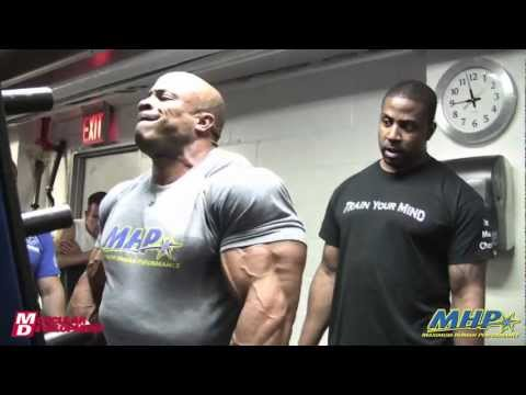 Adapt and Survive - Victor Martinez prepares for the 2011 Mr. Olympia