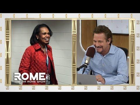 Video: Condoleezza Rice Next Browns Head Coach? | The Jim Rome Show