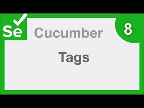 Selenium Cucumber Java BDD Framework 8 - Tags | Step by Step