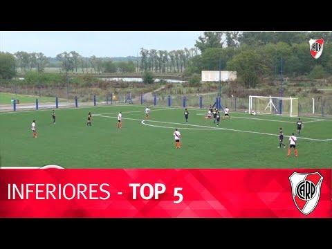 Goles de Divisiones Inferiores vs. Boca (03-05-2018)