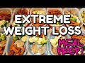 MY WEEKLY EXTREME WEIGHT LOSS MEAL PREP! HOW I LOST 130 POUNDS