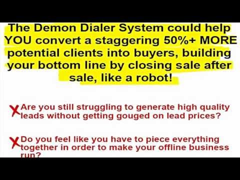 WSO Demon Dialer System Review – All In One Client Getting Solution