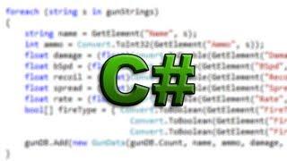 C# Tutorial Video (part 1) - How To Program In C# - The Basics