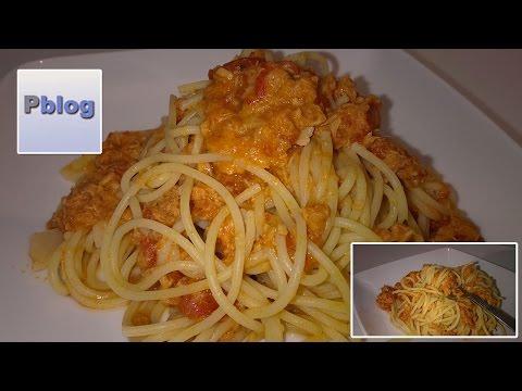 video ricetta: bimby - spaghetti tonno e pomodoro