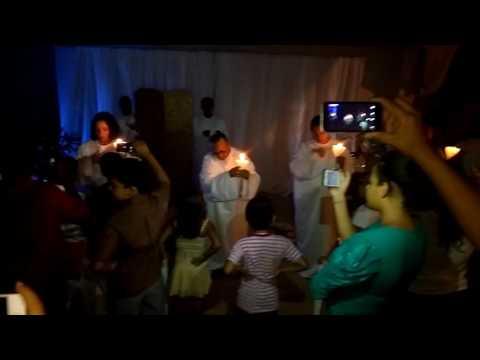 Dez virgens apresentado pelos novos convertidos Assembleia de Deus de Glória D'Oeste MT