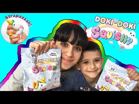 EDICOLA: DOKI DOKI SQUISHY - Super kawaii! (видео)