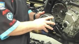 9. BMW S1000RR Clutch Maintenance Video 2011