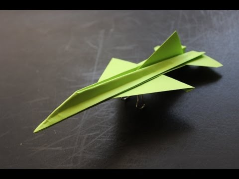 How to make a cool paper plane origami: instruction| F16