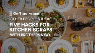 Seattle pop-up chef team Brothers & Co. are showing you how to turn your leftovers into creative, modern meals. Use these tricks to breathe new life into everything in your fridge. chfstps.co/2u25lhpYou're passionate about cooking. We're here to help.Become a member and be the first to learn about new recipes, special offers, and goings-on around the kitchen: http://chfstps.co/1paXXVdAnd while you're at it...Like us on Facebook: http://chfstps.co/1thBubbFollow us on Instagram: http://chfstps.co/1nDs8Fj Tweet with us: http://chfstps.co/1gMVbWAGet Pin-spired: http://chfstps.co/1koB9kIRead our blog: http://chfstps.co/1rhTgh0