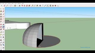 Video Tutorial - How to make Hemisphere and Cone in Google Sketchup? MP3, 3GP, MP4, WEBM, AVI, FLV Desember 2017