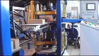 Линия по производству гиперпрессованного кирпича. Прессмонтаж