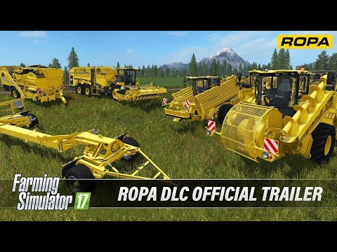 Farming Simulator 17 ROPA DLC Official Trailer