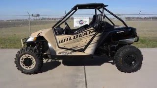 7. $19,999:  2016 Arctic Cat Wildcat X Special Edition Desert Tan Overview and Review