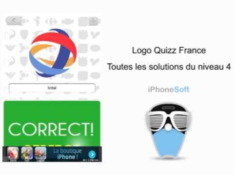 Logos Quizz France : Toutes les solutions du niveau 4