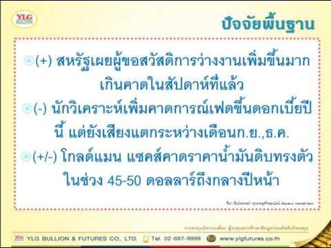 YLG บทวิเคราะห์ราคาทองคำประจำวัน 29-07-16