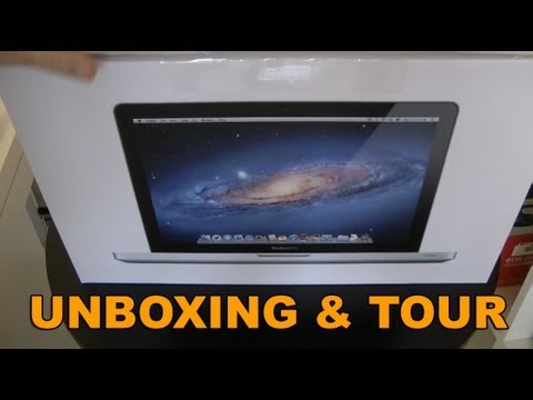 2011 Macbook Pro Unboxing - Apple MacBook Pro Late 2011 Unboxing & Product Tour. Buy your MacBook Pro here http://amzn.to/MacBookPros Supplied by http://www.apple.com/uk/ Sponsored by h...