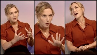 Video Kate Winslet Remembering Her First Meeting With Leonardo DiCaprio And How Much He Makes Her Laugh MP3, 3GP, MP4, WEBM, AVI, FLV Agustus 2018