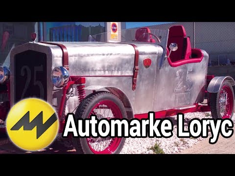 Automarke Loryc: Elektro-Oldtimer Replica made in M ...