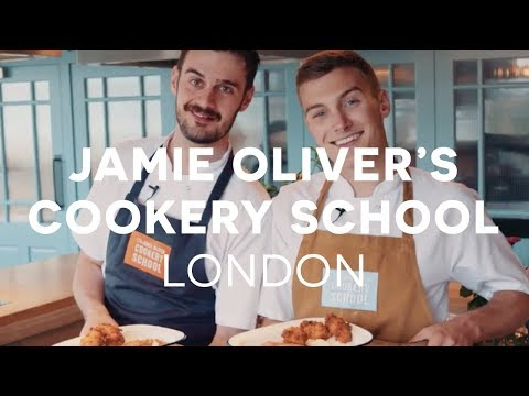 We Spent The Day At Jamie Oliver's Cookery School 🍽