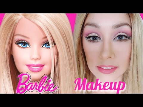 BARBIE DOLL MAKEUP/MAQUILLAJE BARBIE TRANSFORMACION