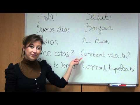 Cómo saludar en francés