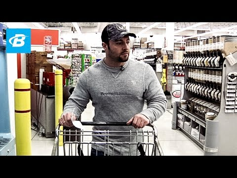 Kris Gethin 12 Week Video Trainer – Nutrition & Shopping – Day 3 – Bodybuilding.com