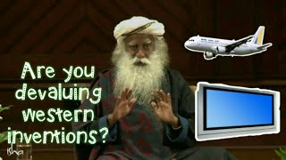 Video Are you trying to devalue the western inventions like AC and aircrafts? | Sadhguru at Harvard Medica MP3, 3GP, MP4, WEBM, AVI, FLV Agustus 2018