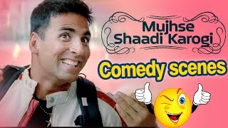 Complete Comedy Scenes of Mujhse Shadi Karogi