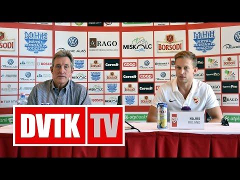 """""""Fontos a jó szezonrajt""""   2016. szeptember 8.   DVTK TV"""