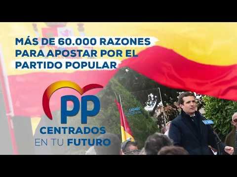 Más de 60.000 razones para apostar por el Partido Popular