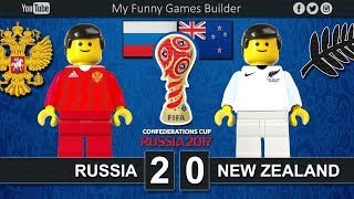 Russia vs New Zealand 2-0 • FIFA Confederations Cup Russia 2017 • 17/06/2017 • Lego Football Film Brick film reconstruction of the FIFA Confederations Cup Russia 2017 between Russia and New ZealandFIFA Confederations Cup Russia 2017 / First stage - Group ARussia vs New Zealand 2-031' Boxall (OG)69' Smolov Saint Petersburg StadiumSaint Petersburg (RUS)17 June 2017-----------------------------------------------------------------------------------------------------Top Link Competitions:- Champions League • https://www.youtube.com/playlist?list=PLDgxLNKesJl59dj09mFzcegFIPp6WuZzr - Serie A • https://www.youtube.com/playlist?list=PLDgxLNKesJl4TjpWj4a2DVmglqt4p6fUu - LaLiga • https://www.youtube.com/playlist?list=PLDgxLNKesJl59dj09mFzcegFIPp6WuZzr - Premier League • https://www.youtube.com/playlist?list=PLDgxLNKesJl7i36gCR5CicjPy_wRCDYuO - FIFA World Cup • https://www.youtube.com/playlist?list=PLDgxLNKesJl6D9GsBdjq3lngqH-AYc8EvTop Link Club:- Real Madrid CF • https://www.youtube.com/playlist?list=PLDgxLNKesJl56wTYUI1DoIGPoQHYzI9vk - FC Barcelona • https://www.youtube.com/playlist?list=PLDgxLNKesJl495fjfDEcLABBuWTAhB5L1 - Chelsea • https://www.youtube.com/playlist?list=PLDgxLNKesJl7bYGLGK3YuzDiq_2_nAPEA - Manchester United • https://www.youtube.com/playlist?list=PLDgxLNKesJl6HKGMfEMxhRpAHfJMeNDom- Juventus FC • https://www.youtube.com/playlist?list=PLDgxLNKesJl7_LsTYvAWQMlpIA6rJ32Hm - AC Milan • https://www.youtube.com/playlist?list=PLDgxLNKesJl5lOf_KfRfmP0Cciwhpr4cR - FC Inter • https://www.youtube.com/playlist?list=PLDgxLNKesJl6ccUhR3yipMwKRh44WQR10 - SSC Napoli • https://www.youtube.com/playlist?list=PLDgxLNKesJl6hHHfUC1qhA_mxbIf8h-eQ - AS Roma • https://www.youtube.com/playlist?list=PLDgxLNKesJl4q9am3RuaTzjKa3TJHgEHo Top Link Finals: https://www.youtube.com/playlist?list=PLDgxLNKesJl4RZ4B0njyFrWB9Ayb7-EYF-----------------------------------------------------------------------------------------------------LEGO® is a trademark of the LEGO Group of companies which does not sponsor, authorize or endorse this channel.