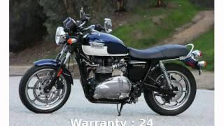 7. 2010 Triumph Bonneville SE - Info and Specs