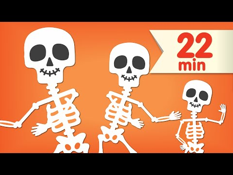 The Skeleton Dance + More | Dance Songs for Kids | Super Simple Songs