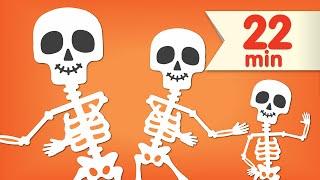 Video The Skeleton Dance + More | Dance Songs for Kids | Super Simple Songs MP3, 3GP, MP4, WEBM, AVI, FLV Agustus 2017