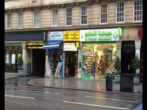 Edgware Road, London (видео)