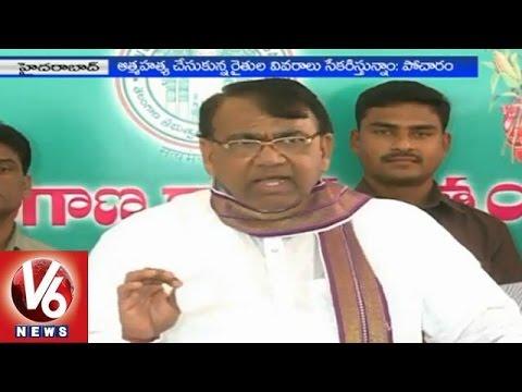 Agriculture Minister Pocharam Srinivas fired on TTDP leaders