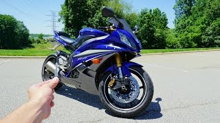 6. 2007 Yamaha R6: Exhaust, Walkaround, Test Ride and Review