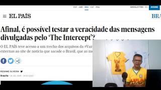 Urgente: El País também confirma mensagens do The Intercept!