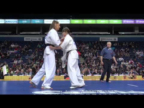 【新極真会】The 5th Karate World Cup WOMEN HEAVY WEIGHT 1ST ROUND 5 Alekxeyeva vs. Balsyte