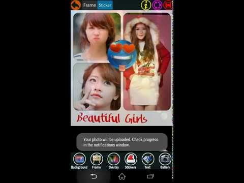 Video of Photo Grid Collage