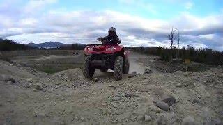 8. Atv suzuki kingquad 400cc 4x4--- Sony action cam~
