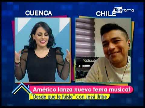 "Américo lanza nuevo tema musical ""Desde que te fuiste"" con Jessi Uribe"