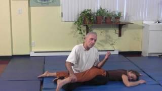 Démonstration Massage Thaïlandais - Yoga Thaï - Institut Kiné-Concept - 3