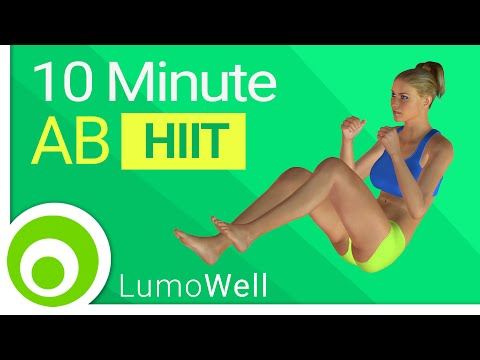 10 minute ab workout: Abdominal exercises to get a six pack at home