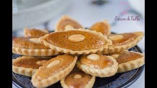 Barquettes aux amandes, une idée pour gâteau aid el fitr.Pour vous abonner :https://www.youtube.com/user/cuisinedefadi?sub_confirmation=1Mon blog : http://cuisinedefadila.comma page fan Facebook : https://www.facebook.com/cuisinedefadilaTwitter: https://twitter.com/cuisinedefadilaInstagram: https://instagram.com/cuisinedefadila/Ingrédients :Pour la pâte:350 g de farine125 g de beurre 1 oeuf 50 g de sucre glace4 cs d'eau de fleur d'orangerune pincée de selCrème amande:150 g d'amandes moulues50 g de sucre50 g de beurre50 g de confiture d'abricot1 sachet de scure vanillé1 oeufteste d'un demi citron1 pincée de selCuisine De Fadila, une chaine de cuisine , avec des recettes de pâtisseries, des recettes d'ici et d'ailleurs, simples ou sophistiquées, il y en a pour tout les goûts et les niveaux.Musique: Malhoune  (Hicham Chahidi)https://www.musicscreen.org/https://www.musicscreen.org/royalty-free-music-conditions.php.