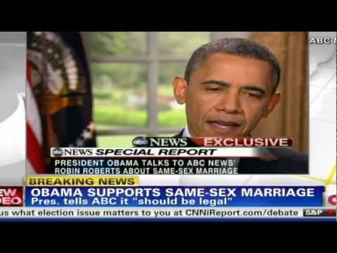 president obama gay marriage - WASHINGTON -- In a nod to a dramatic shift in public opinion, Barack Obama on Wednesday became the first sitting president to announce his support for same-s...